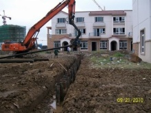 sewage treatment project in Wuhu